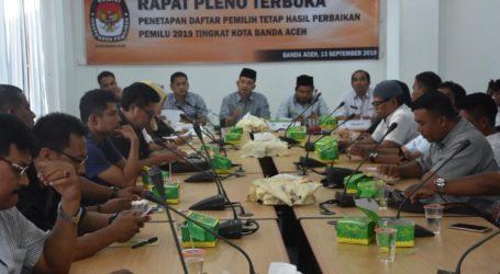 Komisi Pemilihan Banda Aceh Hapus 468 Pemilih Ganda