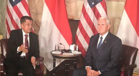 JK Dorong Peningkatan Kerjasama Perdagangan Indonesia-Amerika