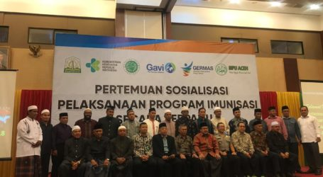Aceh Kejar Target Capaian Imuniasasi MR