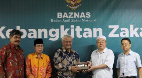 Zakat Mendunia, Muslim China Apresiasi BAZNAS