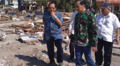 Presiden Tinjau Daerah Terdampak Gempa dan Tsunami di Palu