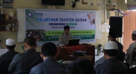 Perguruan Islam Ar-Risalah Sumbar Sertifikasi Guru Tahfiz