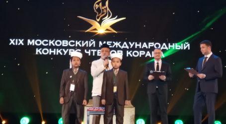 Dua Hafidz Cilik Indonesia Tampil di MTQ Internasional Moskow