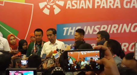 Jokowi Optimis Indonesia Bisa Raih Lebih 16 Emas di Asian Para Games 2018