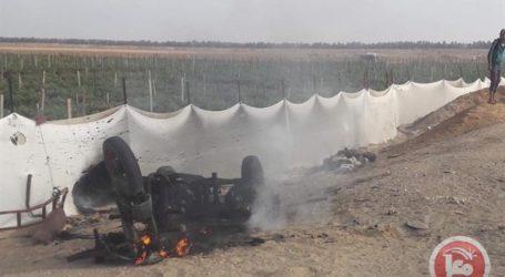 Sepeda Motor Gaza Jadi Sasaran Pesawat Israel