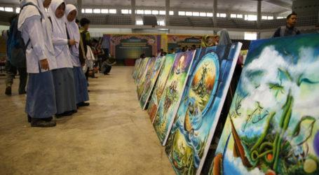 Kaligrafi Kontemporer Layak Jadi Industri Kreatif Seni Al-Quran di Indonesia