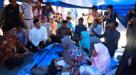 Menag Sapa Mahasiswa UIN Mataram yang Belajar di Tenda