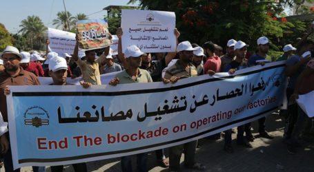 Fasilitas Sektor Swasta Gaza yang Beroperasi Hanya 10%