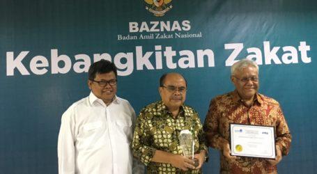 Terima GIFA Award, BAZNAS Berkomitmen Tingkatkan Kinerja