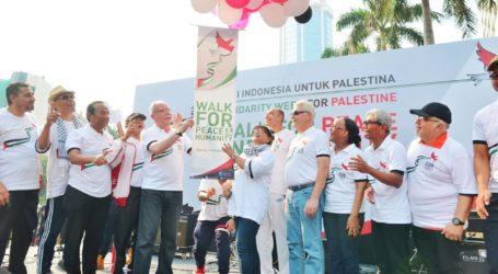 Menlu Retno-Menlu Maliki Gelar Jalan Bersama untuk Kemerdekaan Palestina