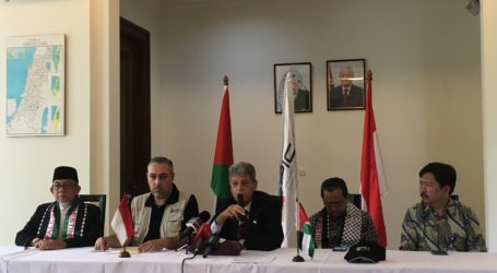 Palestina Berikan Bantuan untuk Korban Gempa dan Tsunami di Sulteng