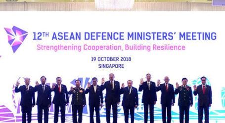 Menteri Pertahanan Negara ASEAN Lakukan Pertemuan di Singapura