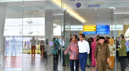Presiden Jokowi Resmikan Bandara di Samarinda dan Berau