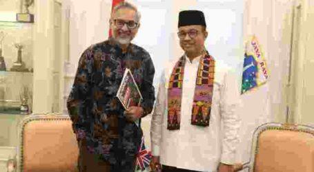DKI Jakarta dan Inggris Bahas Potensi Kerja Sama