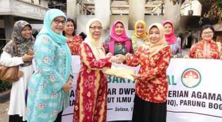 DWP Kemenag Salurkan Bantuan untuk IIQ