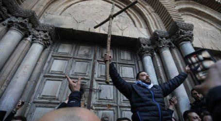 Dewan Gereja Yerusalem Kutuk Tindakan Israel Terhadap Situs Suci