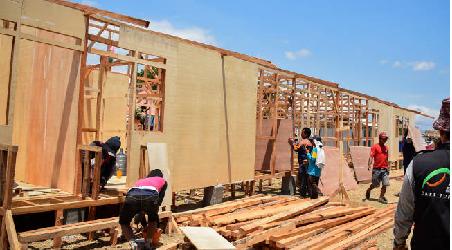 Kementerian PUPR Akan Bangun 1.200 Hunian Sementara Untuk Sulteng