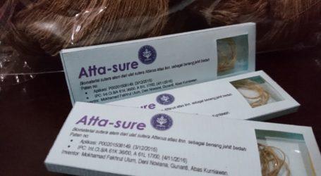 Inovasi Dokter Hewan IPB Jahit Luka dengan Benang Sutera Cokelat