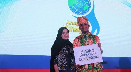 Siswa Madrasah IC Kendari Raih Juara Kedua Anugerah Kihajar 2018
