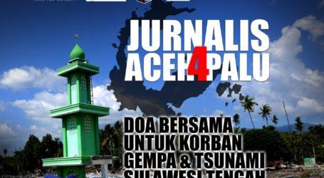 Jurnalis Aceh Gelar Malam Amal untuk Palu