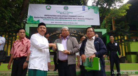 Bangsa Moro Filipina Studi Banding Kurikulum ke Darul Ihsan Aceh