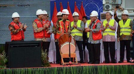 Presiden Resmi Buka Indonesia Infrastructure Week 2018