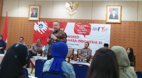 Kongres Bahasa Indonesia XI Usung Tema Menjayakan Bahasa dan Sastra Indonesia
