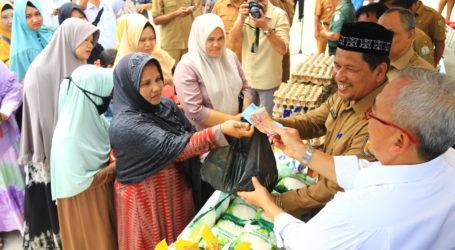 Bulog Aceh Gelar Pasar Murah