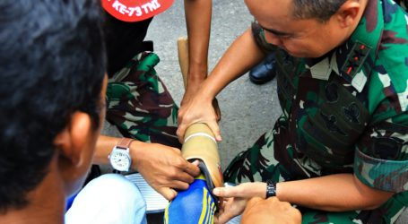 HUT TNI Ke-73, Kodam IM Gelar Pengobatan Massal