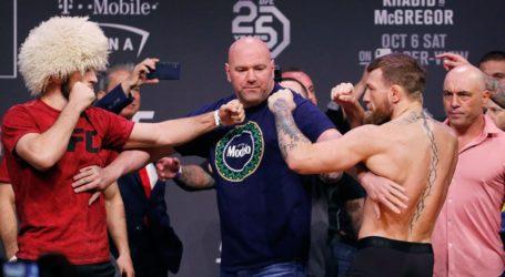 Khabib dan McGregor Terancam Larangan Tak Terbatas di UFC