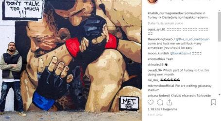 Khabib Nurmagomedov Terima Kasih Untuk Mural Memiting McGregor