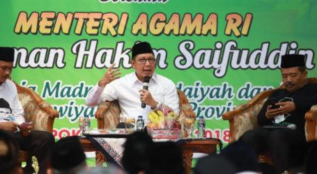 Sapa Ribuan Penyuluh dan Guru Agama, Menag: Beda Politik Jangan Saling Menegasi