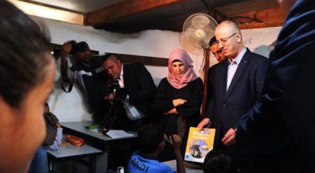 PM Palestina Kunjungi Khan Al-Ahmar