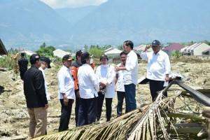 Jokowi Nilai Penanganan Dampak Gempa dan Tsunami Palu Berjalan Baik