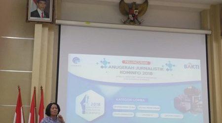 Anugerah Jurnalistik Kominfo 2018