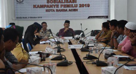KIP Banda Aceh Fasilitasi Lima Model Kampanye