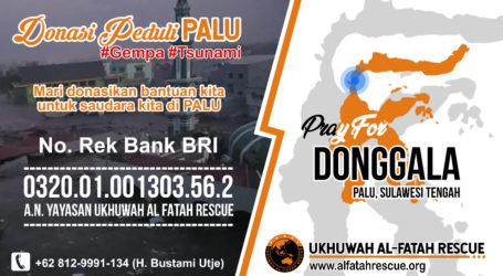 UAR Galang Donasi untuk Palu