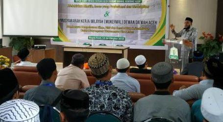 Dewan Dakwah Aceh Gelar Pelatihan Khatib dan Imam