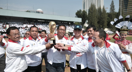 Kompetisi Sepak Bola Gala Siswa Indonesia Tingkat Nasional Dibuka Mendikbdud