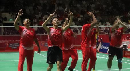 Indonesia Raih Emas Pertama Asian Para Games 2018 dari Bulutangkis Beregu Putra