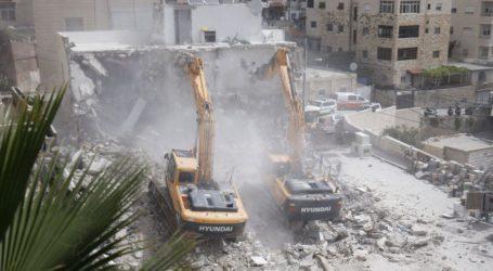 Ibu 9 Anak Kehilangan Rumah Akibat Dihancurkan Pasukan Israel