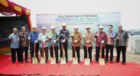 Kawasan Industri Modern Halal Valley Dibangun di Cikande Banten