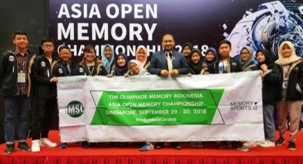 Pelajar Indonesia Raih 34 Medali di Singapura