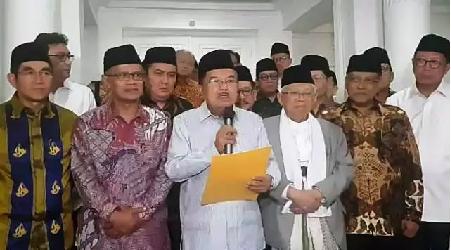 Wapres Bertemu Ormas Islam,  Sepakati Pernyataan Bersama
