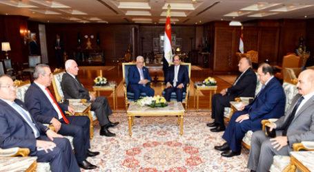 El-Sisi Bertemu Abbas, Tekankan Dukungan Mesir
