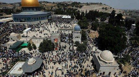 Syaikh Shabri Ajak Rayakan Kelahiran Nabi Muhammad di Masjid Al-Aqsha
