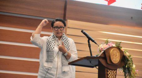 Menlu RI: Perjuangan Palestina Harus Terus Kita Dukung
