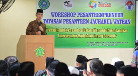 Kemenpora Dukung Program Pesantrenpreneur