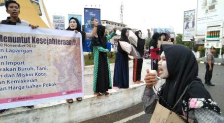Hari Pahlawan, Jaringan Mahasiswa Kota Gelar Aksi