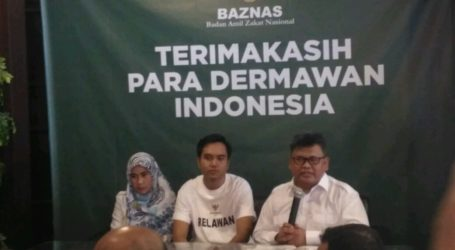 Indonesia Negara Paling Dermawan, BAZNAS Apresiasi Masyarakat